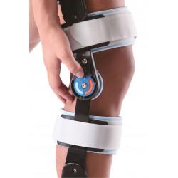 Шарнирный бандаж (ортез) на колено с ограничением сгибания