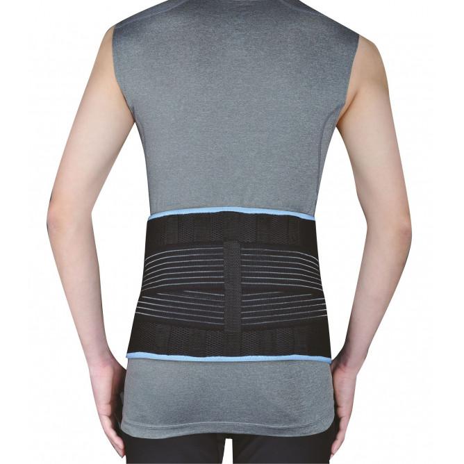 Бандаж для попереку з стабілізуючими ребрами жорсткості