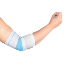 Бандаж Wellcare для локтевого сустава эластичный с силиконовой вставкой
