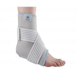 Бандаж для гомілковостопного суглобу з еластичною фіксуючою затяжкою
