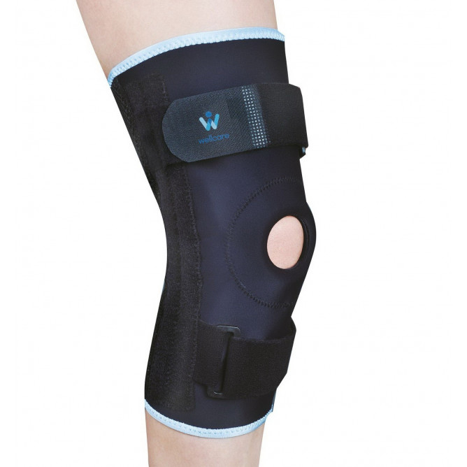 Бандаж на коліно з гнучкими ребрами жорсткості