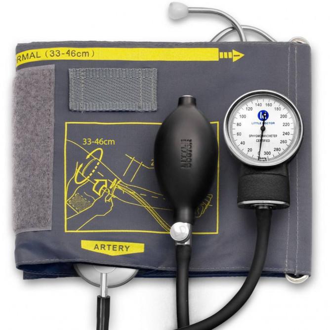 Механічний тонометр з збільшеною манжетою Little Doctor LD-60