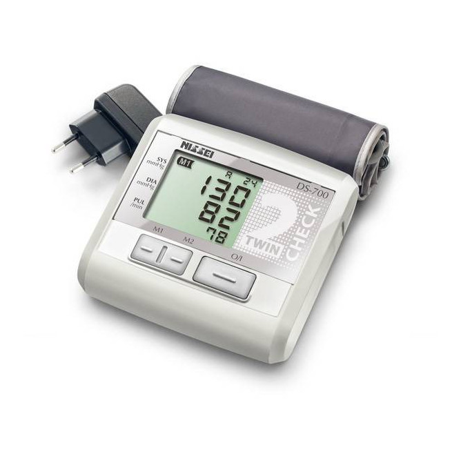Автоматичний тонометр з подвійним вимірюванням NISSEI DS-700