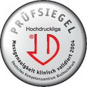 Тонометр сертифицирован Немецким Обществом Гипертонии и признан лучшим тонометром для гипертоников и гипотоников